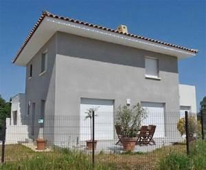 maison a etage 2 detail du plan de maison a etage 2 With delightful couleur facade maison provencale 1 maison provencale prixmaison fr