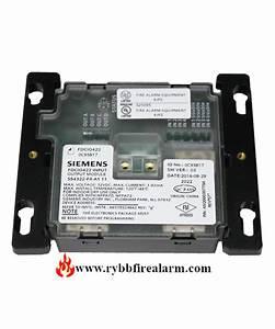 Siemens Fdcio422 Input  Output Module 120 Vac Version P  N  101021726
