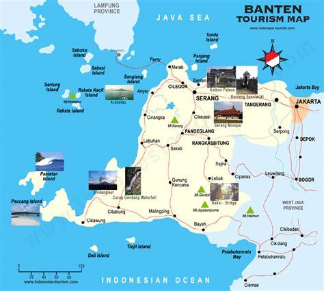 map  bantam peta banten banten map