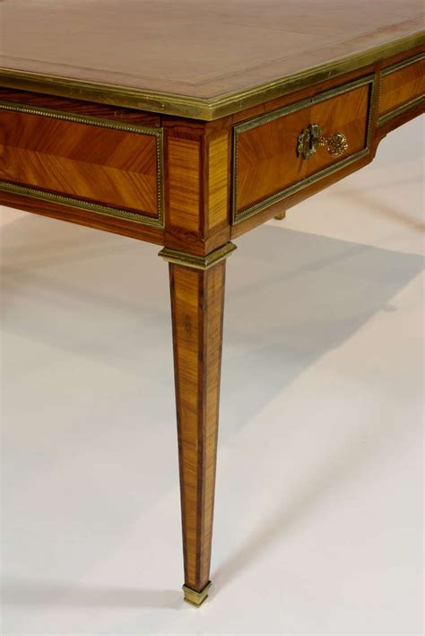 bureau louis 15 louis xvi style bureau plat for sale at 1stdibs