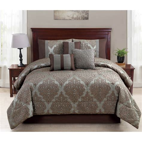 28053 mainstays bedding set mainstays 7 ruth bedding comforter set ebay