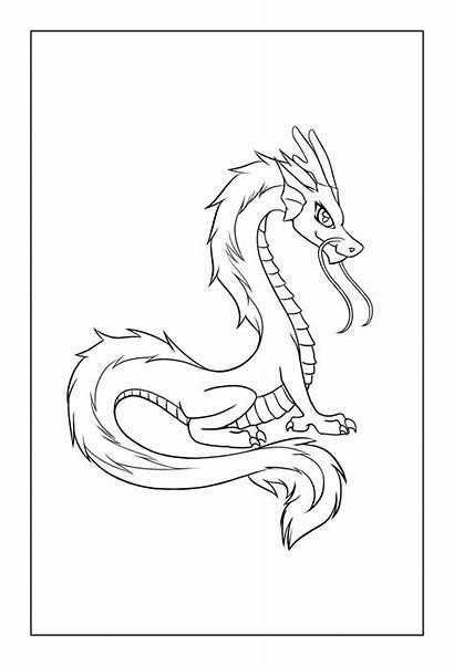 Coloring Dragon Chinese Netflix Adult Rocks Dragons