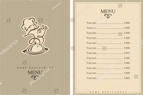 restaurant catering brochure designs templates psd