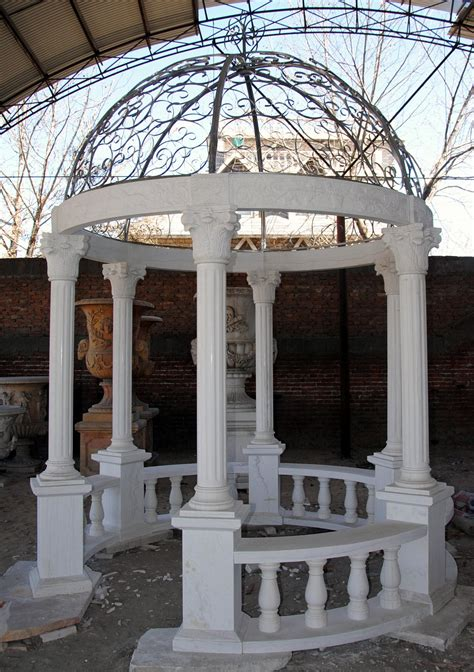 marble gazebo outdoor marbles gazebos italian carved