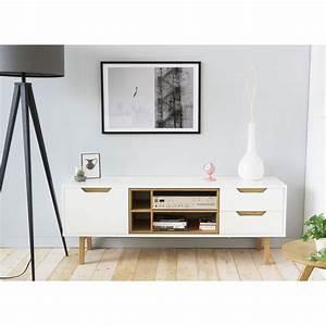 Tv Wandhalterung Ausziehbar 150 Cm : meuble tv 150 cm blanc 1 id es de d coration int rieure french decor ~ Yasmunasinghe.com Haus und Dekorationen