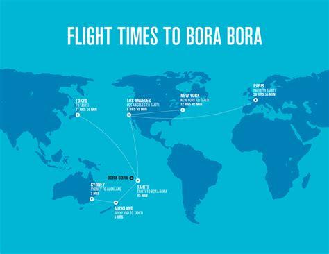 Bora Bora Map Monde by Bora Bora On World Map Roundtripticket Me