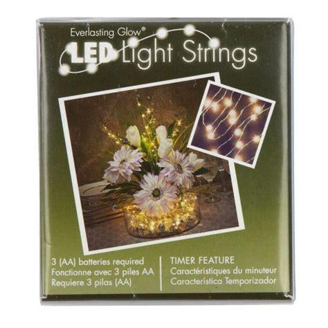 battery powered string lights michaels light string by ashland everlasting glow 36