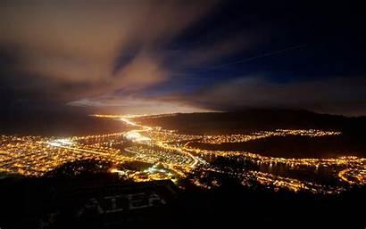 Night 4k Sky Lights Desktop Hawaii Nighttime