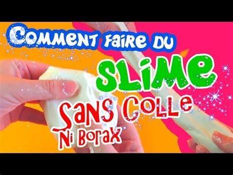 comment faire du slime avec de la mousse 224 raser diy fluffy slime recette du slime sans borax