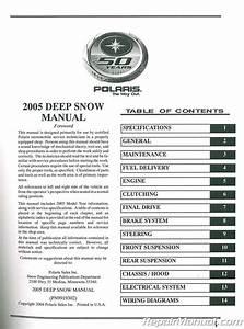 2005 Polaris Rmk And Switchback Snowmobile Service Manual
