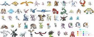 list of the strongest legendary pokemon