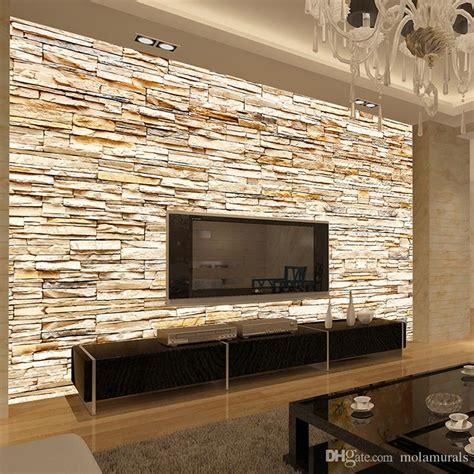 compre  tejida moda  piedra ladrillos wallpaper mural