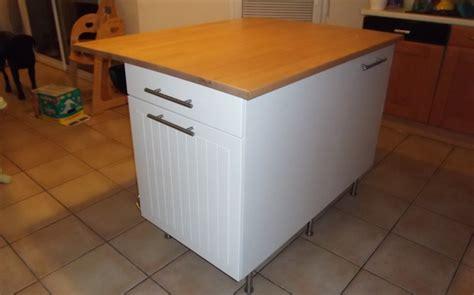 ilot de cuisine alinea ilot central de cuisine sur mesure le du bois