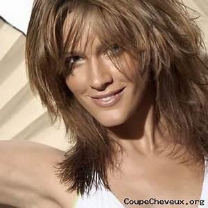 Coiffure Femme Mi Long : coupe de cheveux fins mi long ~ Melissatoandfro.com Idées de Décoration