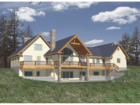 balsam heights modern home plan   house plans
