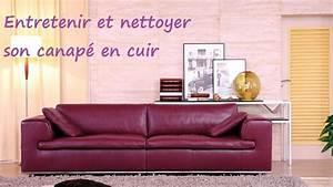 Nettoyer Un Canapé En Cuir : comment entretenir et nettoyer son canap cuir ~ Melissatoandfro.com Idées de Décoration