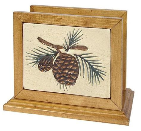 pine cone kitchen accessories napkin holder for bathroom my web value 4223