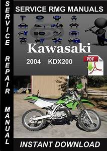 2004 Kawasaki Kdx200 Service Repair Manual Download
