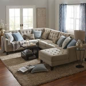 build your own nyle stone gray sectional collection pier