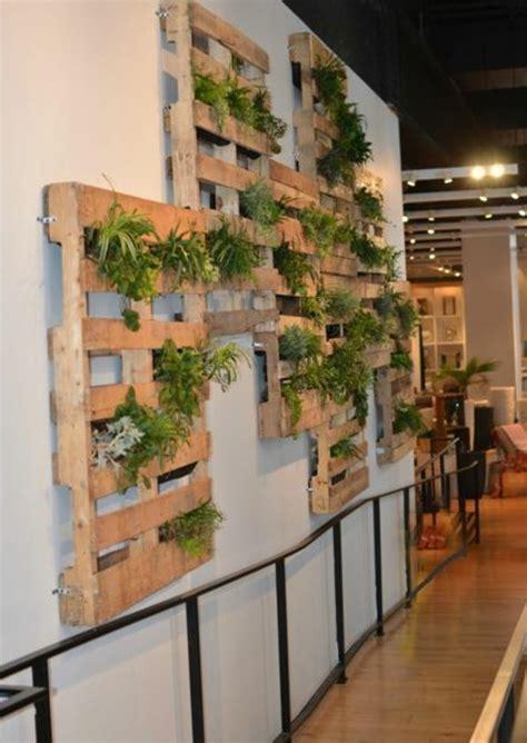 mur de verdure interieur le mur v 233 g 233 tal en palette id 233 es originales pour un