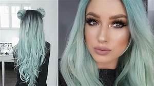 Bleu Vert Couleur : mint hair la coloration pastel la plus tendance cheveux ~ Melissatoandfro.com Idées de Décoration