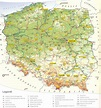 Large detailed tourist map of Poland. Poland large ...