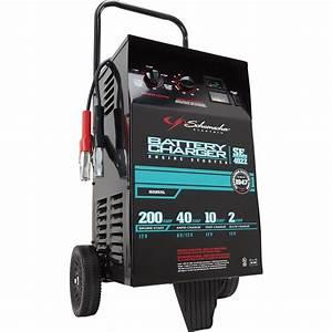 Schumacher Se 10  40  200 Amp Manual Wheeled Battery