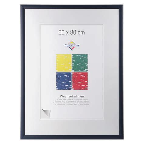 bilderrahmen 60 x 80 colorama bilderrahmen dunkelblau 60 x 80 cm mdf 6742 holzwechselrahmen hfda