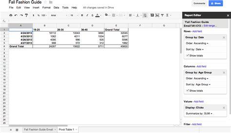 excel spreadsheet pivot table charting in google spreadsheets vs datahero