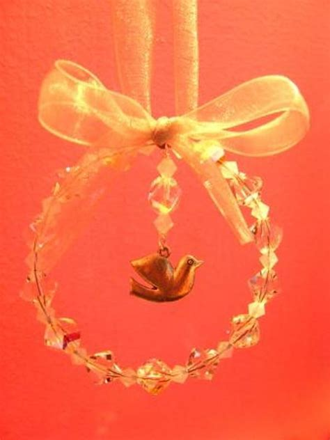 dove  peace christmas decoration