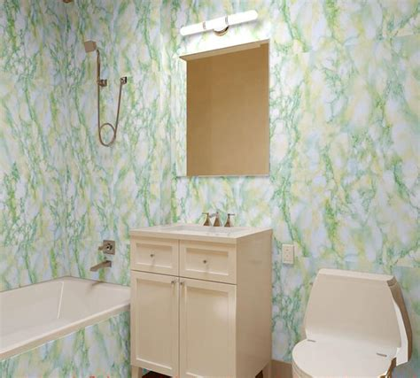 marble effect bathroom stone wallpaper pvc wallpaper