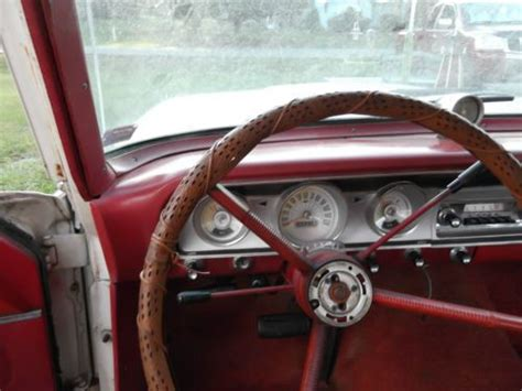 sell   ford fairlane    dr white exterior