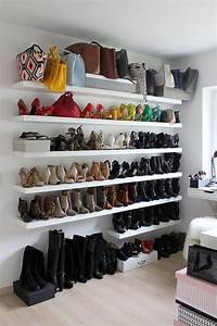 Rangement Chaussures Penderie : tendances des tag res chaussures amenagement ~ Premium-room.com Idées de Décoration