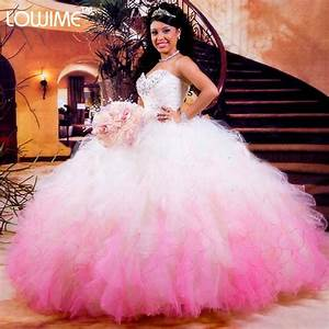 Popular White and Hot Pink Quinceanera Dresses-Buy Cheap ...