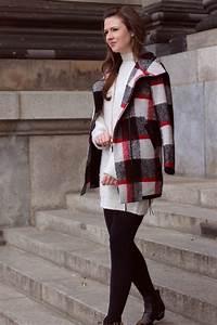 Zara Mein Konto : justmyself fashionblog deutschland winteroutfit zara pulloverkleid karierter wintermantel esprit ~ Watch28wear.com Haus und Dekorationen
