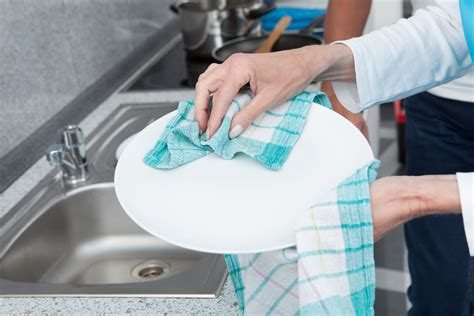 dish cloths         washed