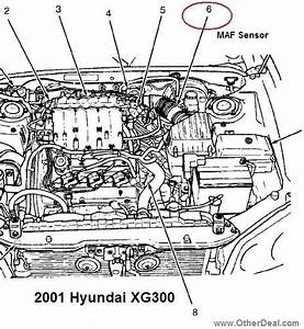 2002 Hyundai Accent Engine Diagram