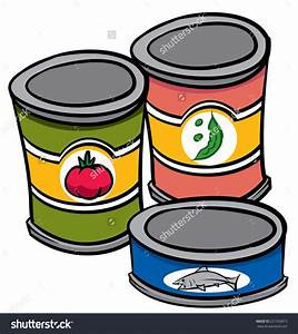Canned clipart - Clipground