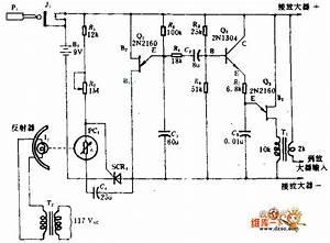 Photoelectric Alarm Circuit Diagram