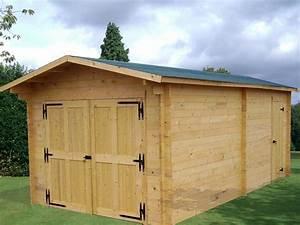 Garage Bois En Kit : garage bois vectura 3 65x6 64m 24 23m2 abrirama ve3562 ~ Premium-room.com Idées de Décoration