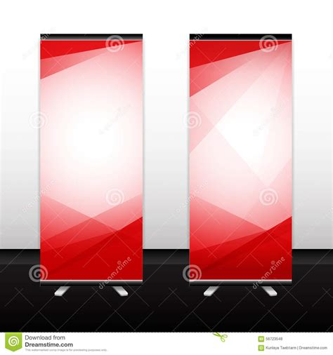 roll  vector background texture standee banner stock