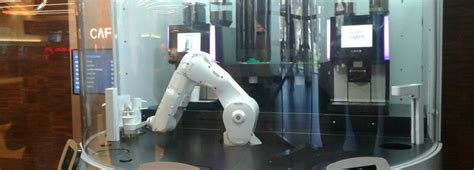 Something special is brewing in oakland. Meet Gordon, The Metreon's New 'Robot Barista'