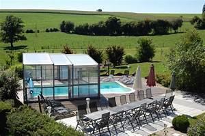 gite 7 chambres 20 personnes avec piscine jacuzzi tennis With camping en ardennes belges avec piscine