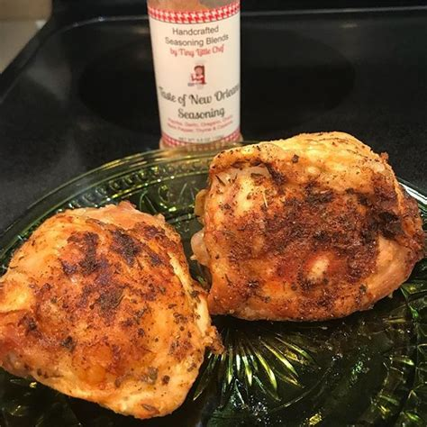 chicken thighs air fried crispy fryer minutes lick plate recipes fry thigh oven keto
