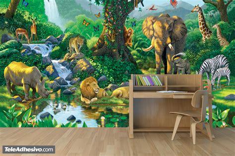 fototapeten jungle harmony