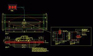 Car Wash Platform Dwg Detail For Autocad  U2022 Designs Cad
