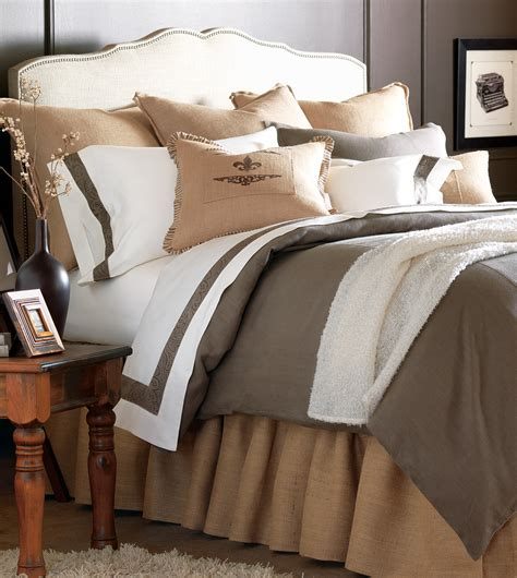 Eastern Accents Bedding Discontinued by Luxury Bedding By Eastern Accents Rustique Burlap Collection