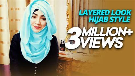 hijab style  saree parizaad tutorial hijab terbaru