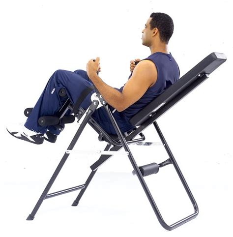 Chair Sit Ups Benefits by Health Pro Inversion Chair
