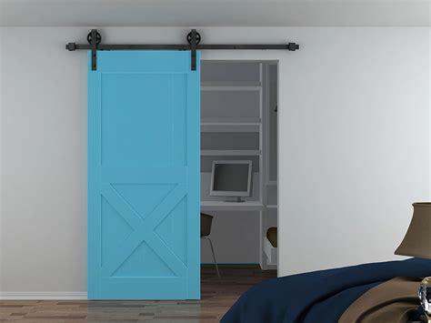 interior barn door hardware  achieve american style